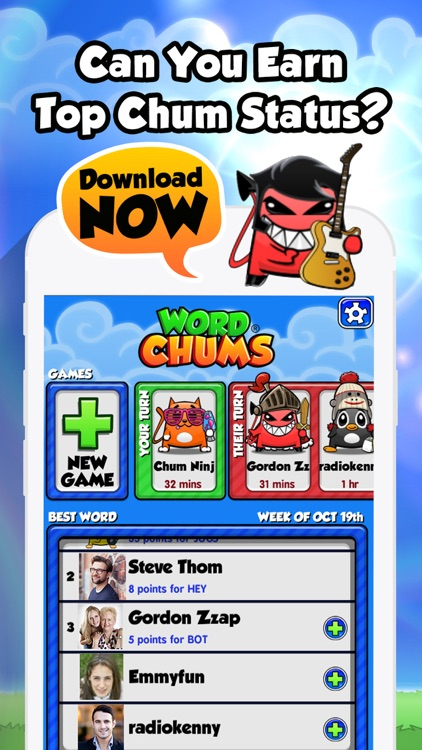 Word Chums screenshot-4