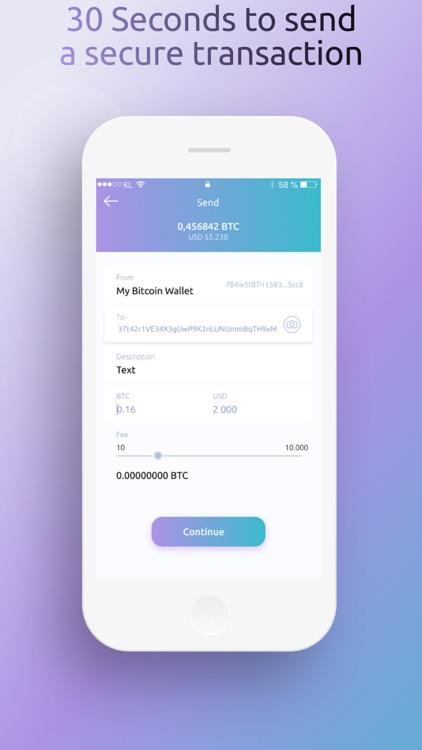 BitFreezer Crypto Wallet screenshot-5