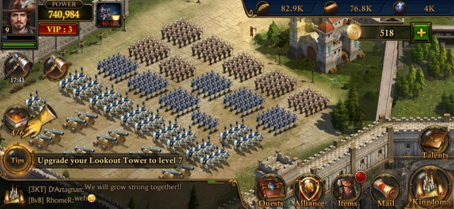 Guns of Glory: MMO Empire War on the App Store