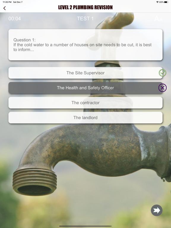 Level 2 Plumbing Revision Aid screenshot 15