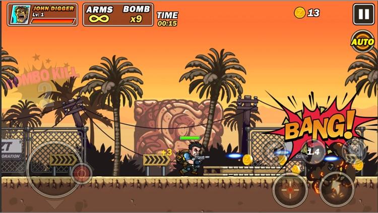 Metal commando slug gun Fire screenshot-3