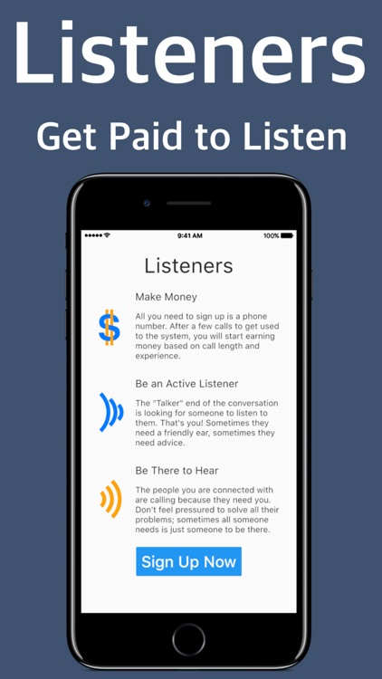 Listeners: Get Paid to Listen by Codehead Labs