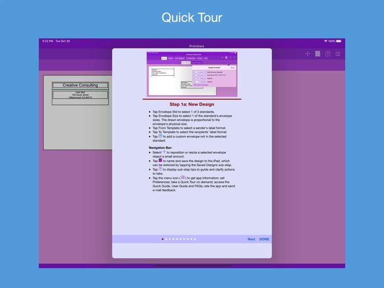 Addressed Envelope Designer screenshot-9