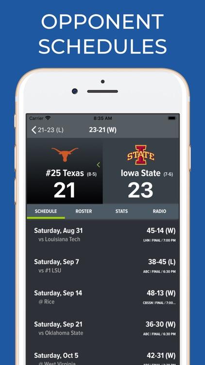Iowa State Football Schedules screenshot-7