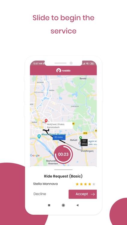 Roaddo Provider screenshot-5