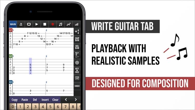 Jam Maestro: create guitar tab screenshot-0