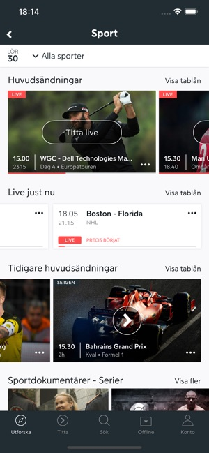 Aktivera viaplay på apple tv