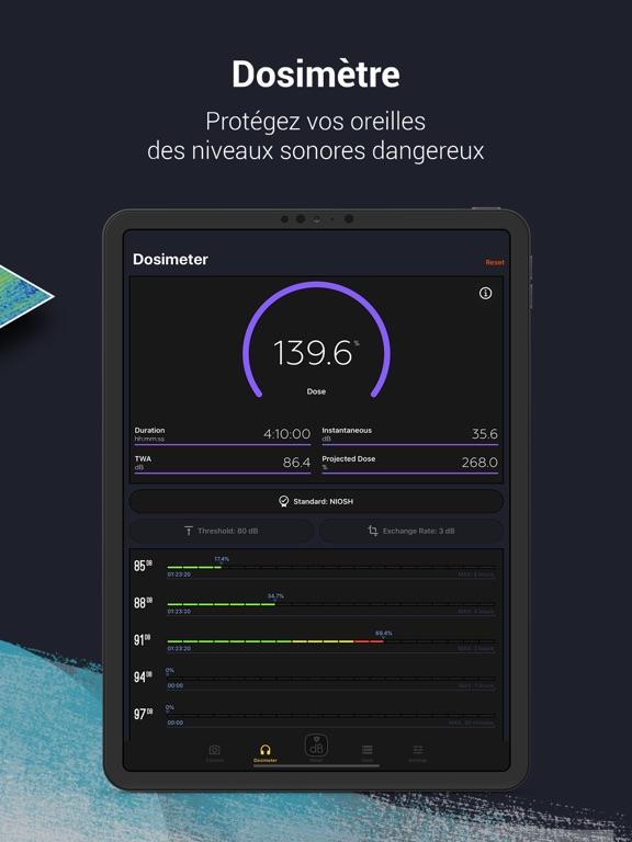 Screenshot #6 pour Décibel X - dB Sonomètre