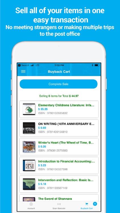 sellbackyourBook - Sell books screenshot-4