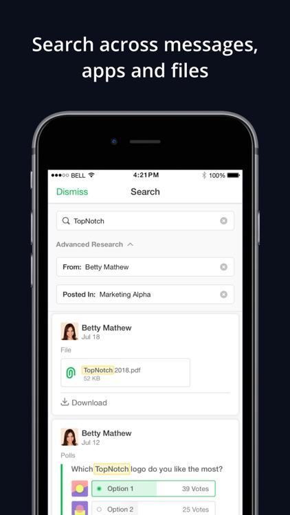Flock: Team Communication App screenshot-5