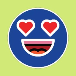 Blue Emojis Stickers