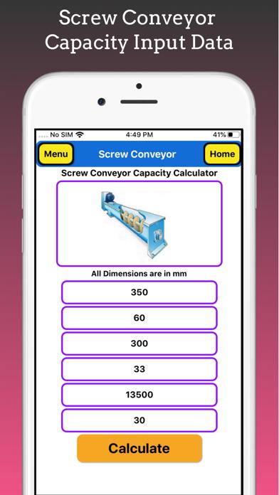 Screw Conveyor Pro screenshot 5