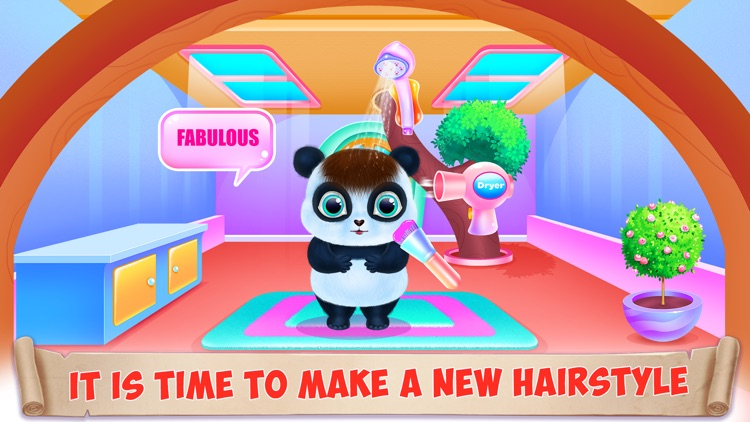 Panda Caring and Dress Up screenshot-3