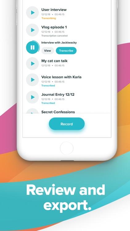 Temi - Recorder & Transcriber screenshot-3