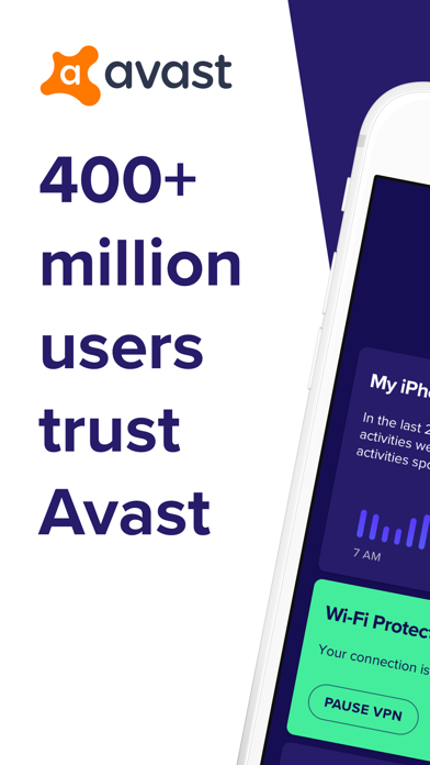 Avast Security & Privacy Screenshot