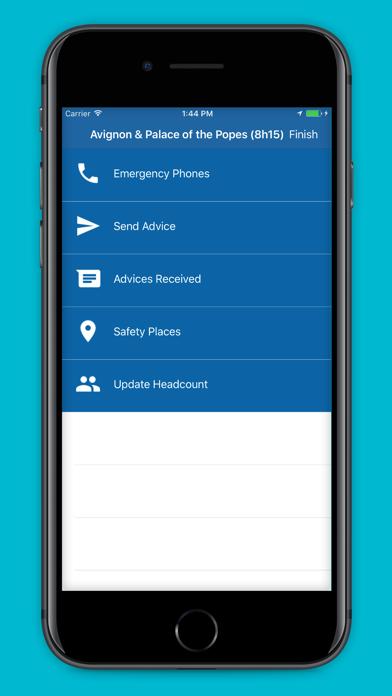 Intercruises Safe Ashore screenshot two