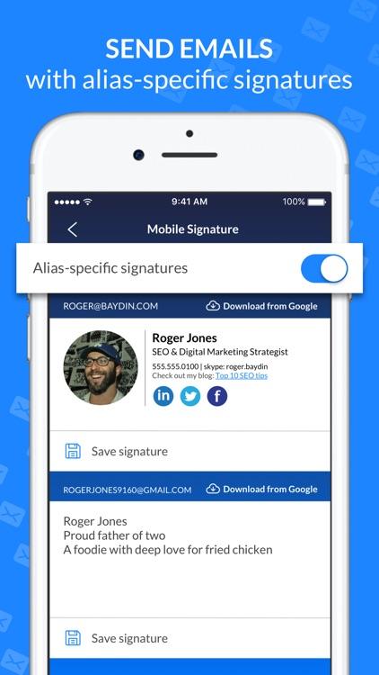 Email Client - Boomerang Mail screenshot-7