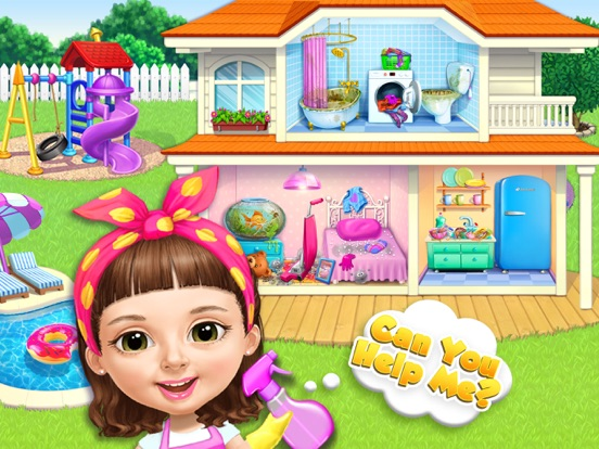 Sweet Baby Girl Cleanup 5 на iPad