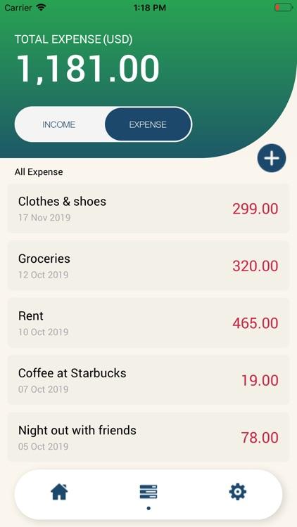 Expense Lite