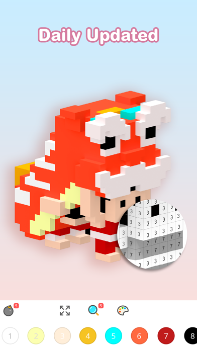 Voxel - Number Coloring Book for windows pc