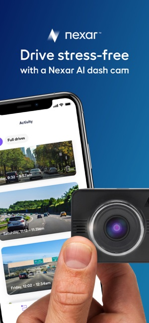 ‎Nexar - AI Dash Cam Screenshot