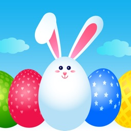 Happy Easter Bunny Stickers IM