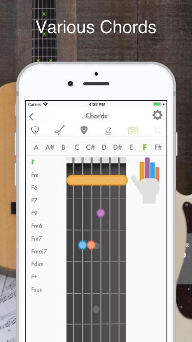 Guitar, Bass and Ukulele Tuner screenshot three