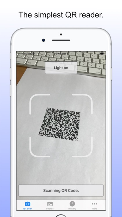 QR Reader - Simple QR Reader