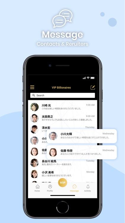 VIP Billionaires - Social Chat screenshot-3