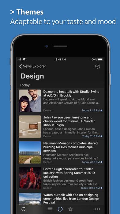 News Explorer screenshot1