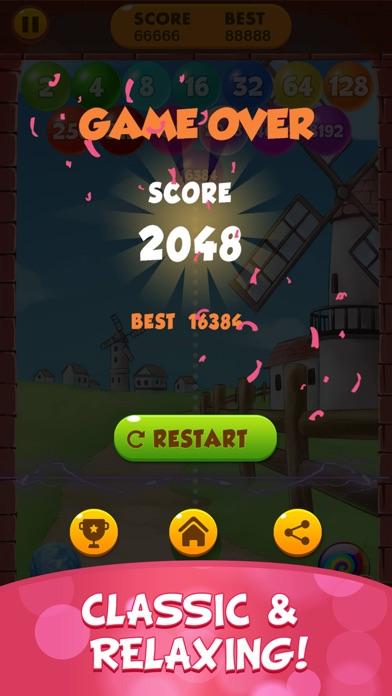 2048 Balls: Merge Magic Bubble screenshot #4
