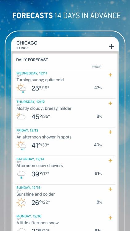 AccuWeather: Weather Tracker screenshot-4