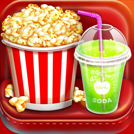 Movie Night Party! Food Games Icon