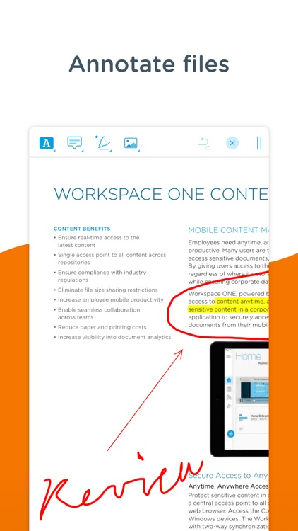 Content - Workspace ONE screenshot-7