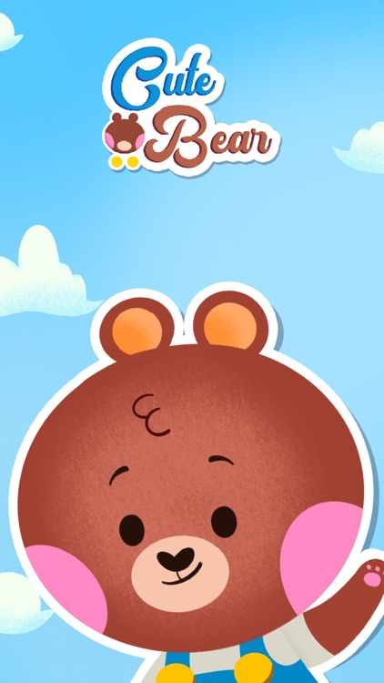 Cute Bear - Animated Stickers