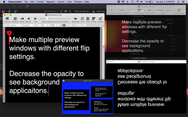Teleprompter on the Mac App Store