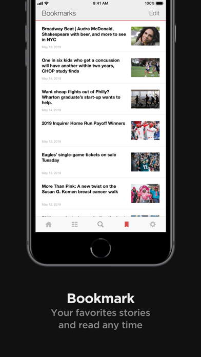 Screenshot for Inquirer.com: Philly Local in United States App Store