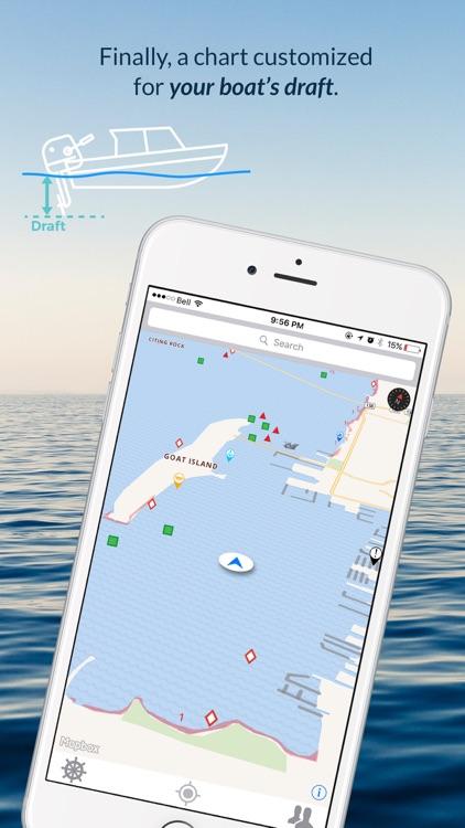 Wavve Boating-Easy Marine GPS screenshot-4