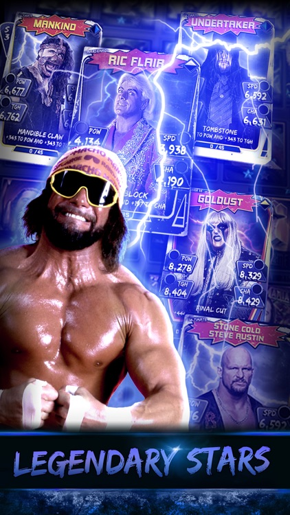 WWE SuperCard screenshot-2