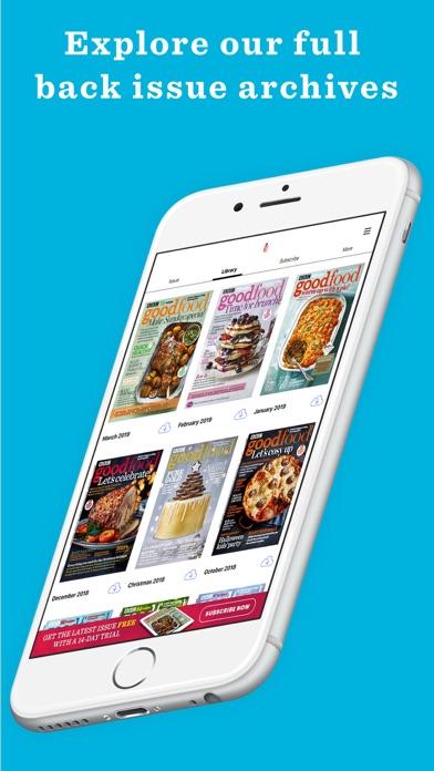 BBC Good Food Magazine Screenshot on iOS