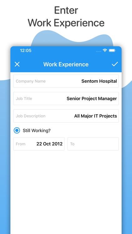 Make My Resume screenshot-8