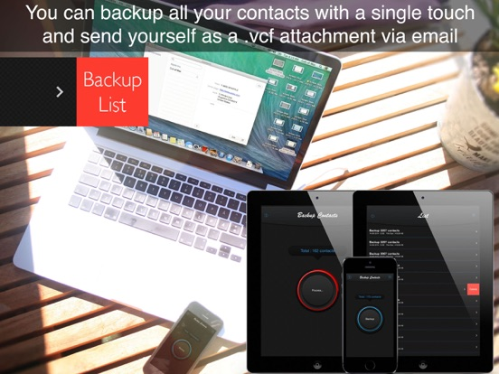 Backup Contacts ! Screenshots