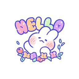 Lovely Cute Rabbit Stickers