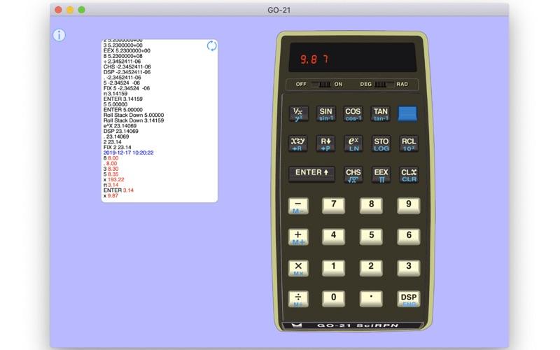 GO-21 SciRPN for Mac