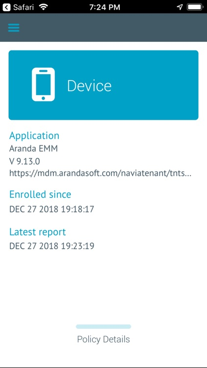 Aranda EMM Agent screenshot-3