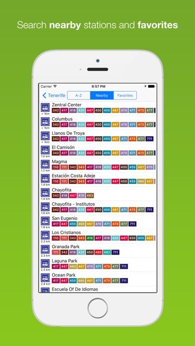 Screenshot for Tenerife Public Transport in Poland App Store