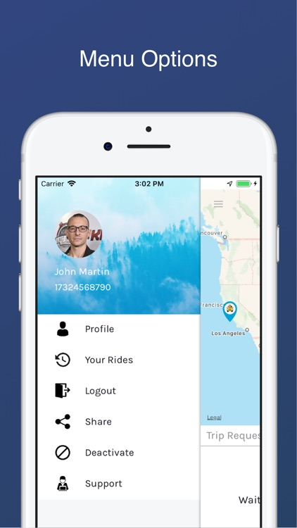 HireMe - Taxi app for Drivers