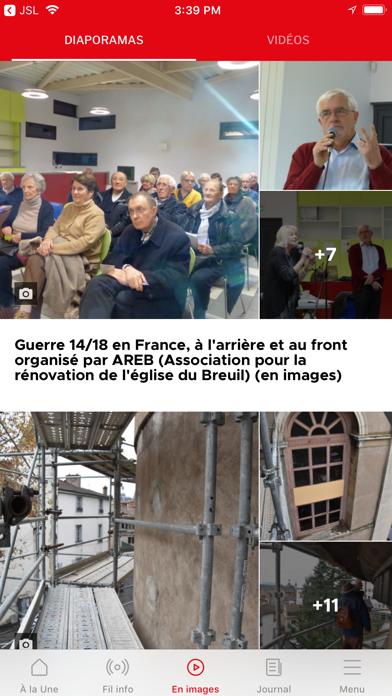 Le Journal de Saône et Loire screenshot four