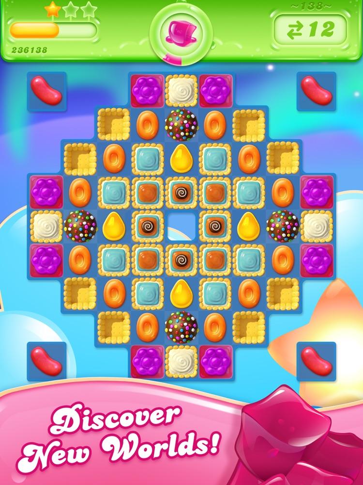 Candy Crush Jelly Saga Online Spielen