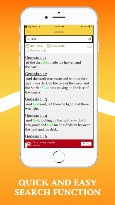 Bible In Basic English - BBEScreenshot of 2